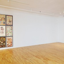 Installation view, Compendium (Contract) and Perfect Schedule, 2011