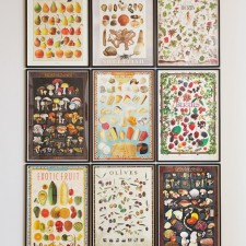 Compendium (Distribution), 2011, Framed posters, 38 x 25 ¾ inches each, 115 ½ x 78 ¾ inches overall